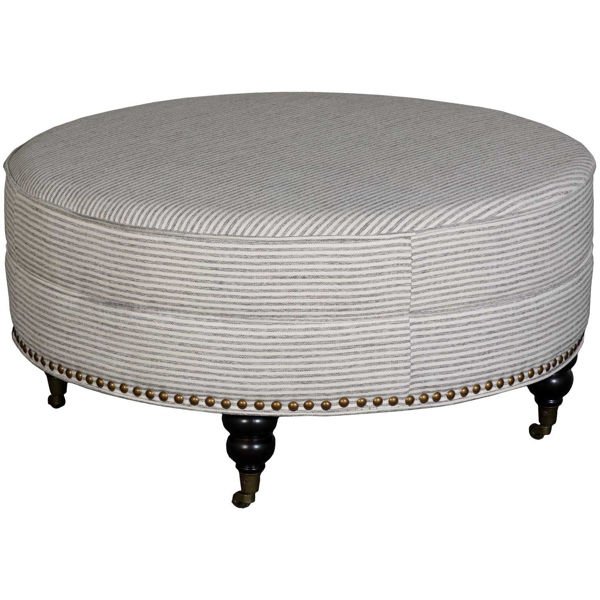 Picture of Willow Creek Round Cocktail Ottoman