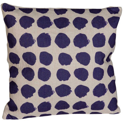 Picture of Blue Dot 18x18 Pillow
