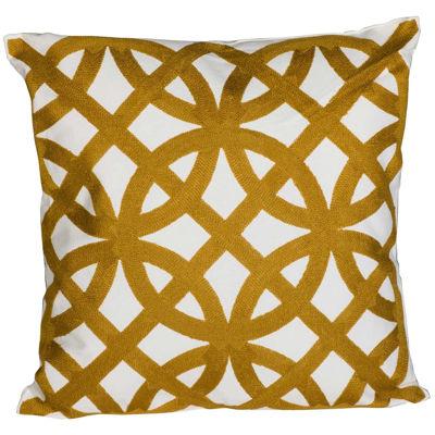 Picture of Yellow Renaissance 18x18 Pillow *P