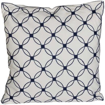 Picture of Interlocking Circles 18x18 Pillow *P