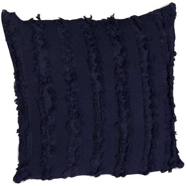 Picture of Navy Threads 18x18 Pillow *P