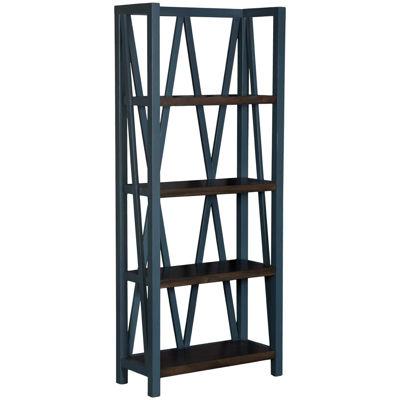 Picture of Americana Modern Blue Bookcase
