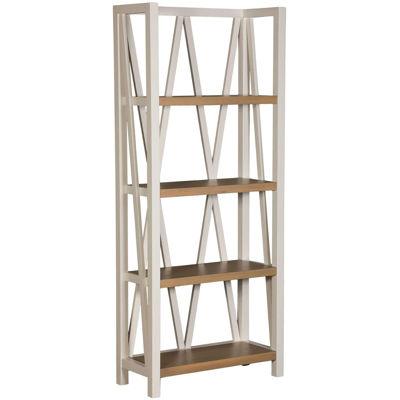 Picture of Americana Modern White Bookcase