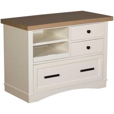 Picture of Americana Modern White File Cabinet