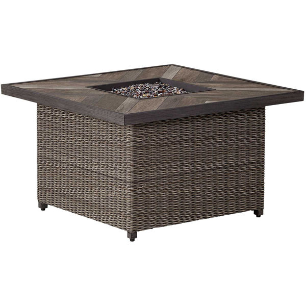 """Picture of Addison 42"""" Square Gas Fire Pit"""