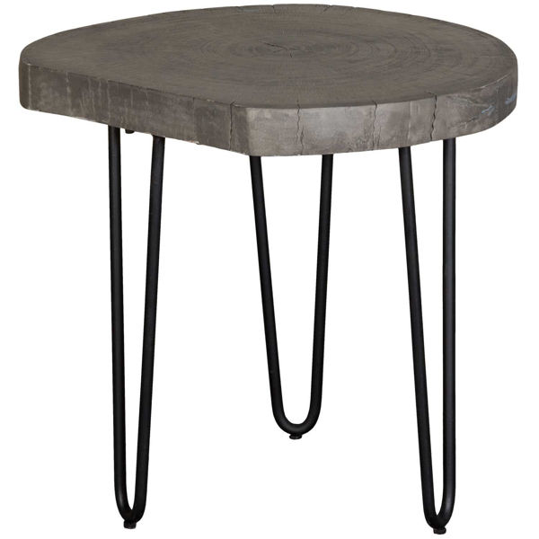 Picture of Grey Vintage Iron Round Side Table
