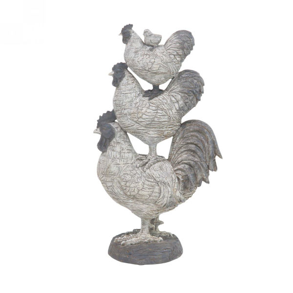Picture of Stacking Roosters Sculpture