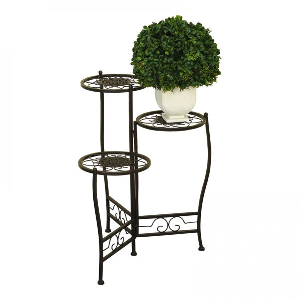 Picture of 3 Tier Metal Plant Stand