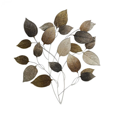 Picture of Metal Leaf Wall Decor