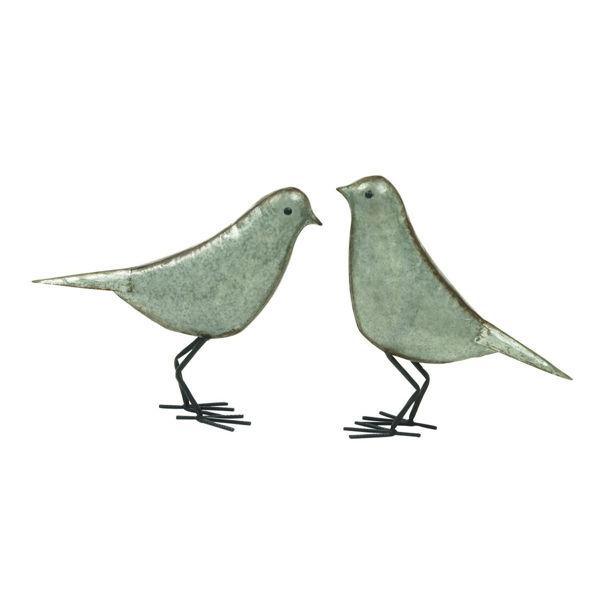 Picture of Set of 2 Metal Birds