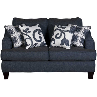 Picture of Penny Navy Loveseat