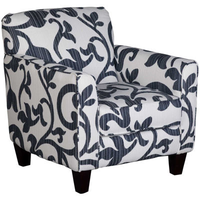 Picture of Penny Navy Floral Accent Chair