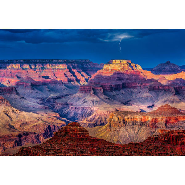 Picture of Great Canyon During Thunder