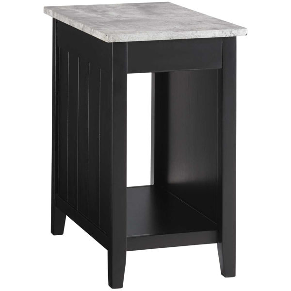 Picture of Diamenton Black Chair Side End Table