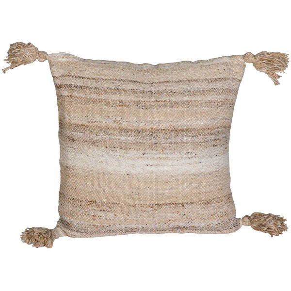 Picture of 20x20 Indoor/Outdoor Light Brown Pillow