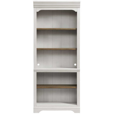 """Picture of Drake 76"""" Bunching Open Bookcase"""