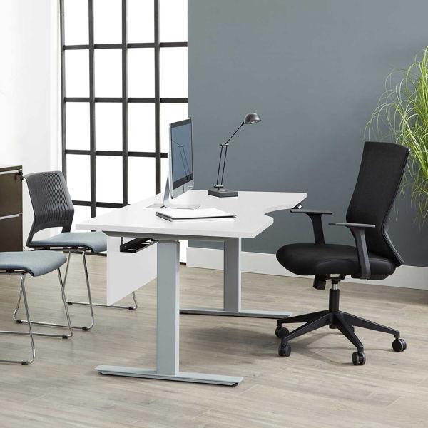 "Picture of Fontana 54"" Lift Desk, White"
