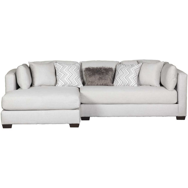 Picture of 2PC Silver Sectional w/ LAF Chaise