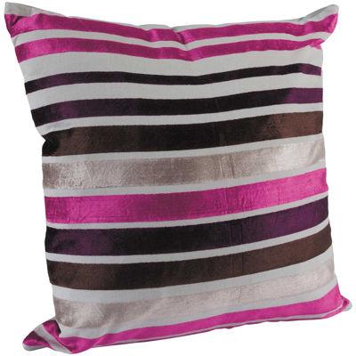 Picture of Fuschia Stripe 18x18 Pillow