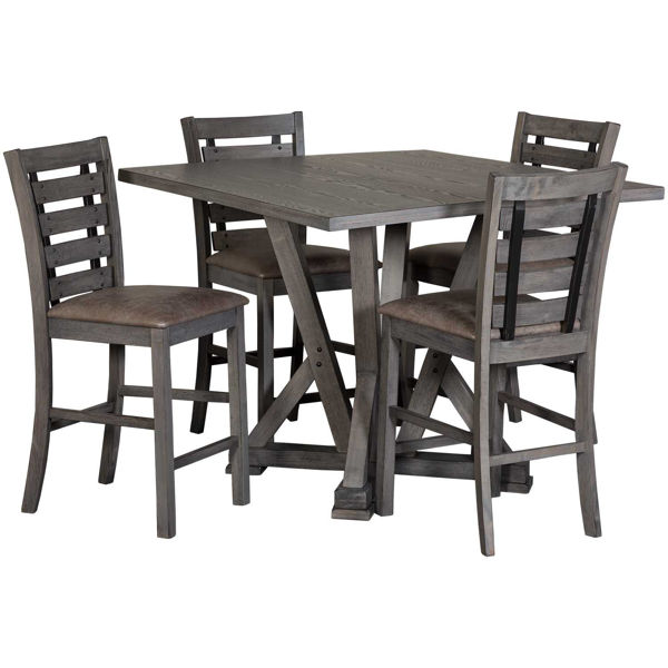 Picture of Fiji 5 Piece Counter Height Set