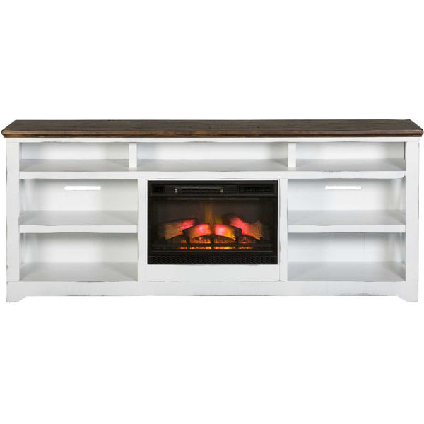 """Picture of Qatar 84"""" TV Stand with Fireplace"""
