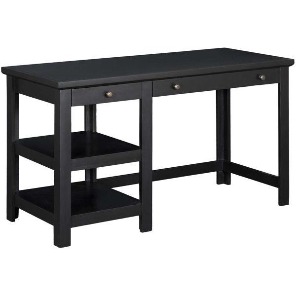 Picture of Black 54-Inch Computer Desk