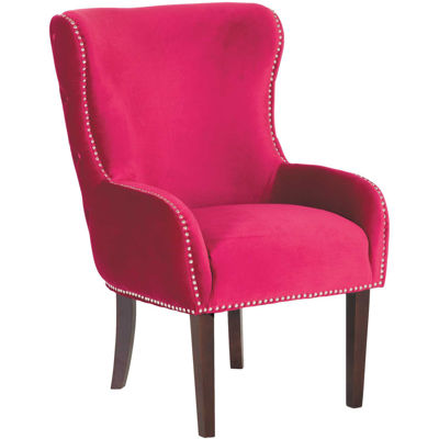 Picture of Tampa Red Accent Chair