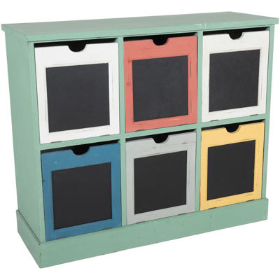 Picture of Multicolor Storage Cubby
