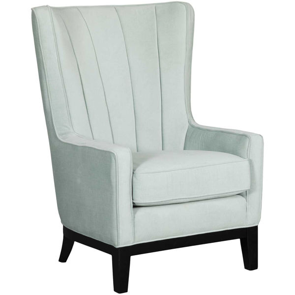 Picture of Alexandria Blue Accent Chair