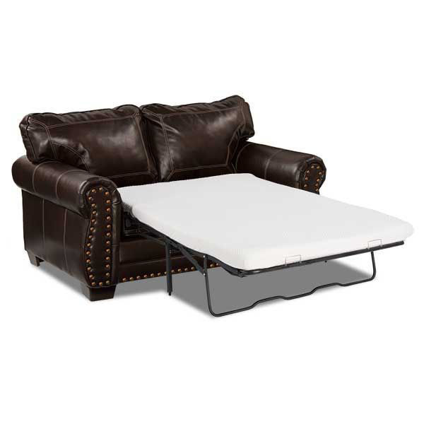 Picture of Espresso Bonded Leather Twin Sleeper