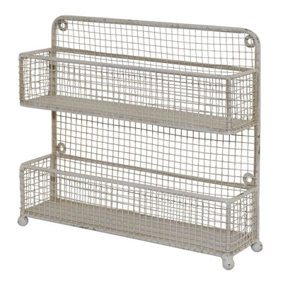 Picture of 2 Tier Metal Shelves Hand or Sit