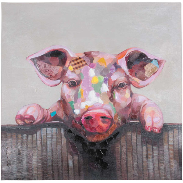 Picture of Miss Piggy Canvas