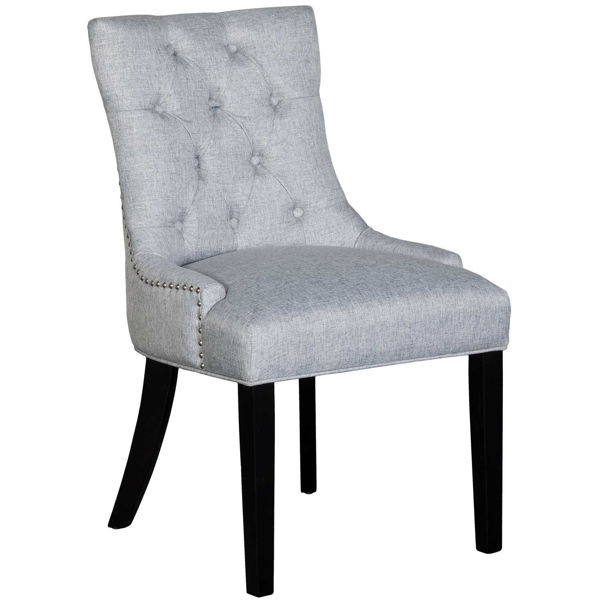 Picture of Doreen Gray Tufted Accent Chair