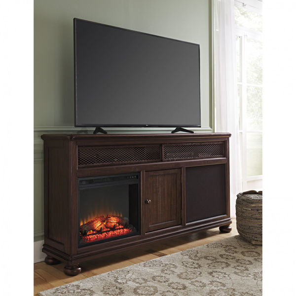 Picture of Gerlane TV Stand with Fireplace