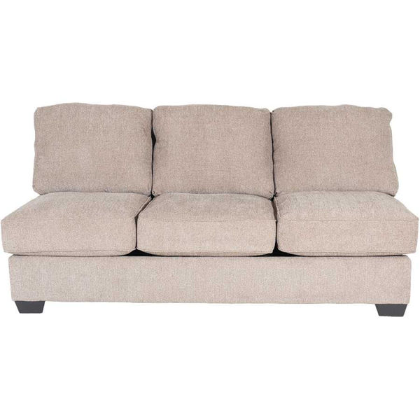 Picture of Taupe Armless Sofa