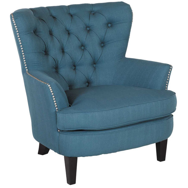 Picture of Elanor Teal Tufted Accent chair