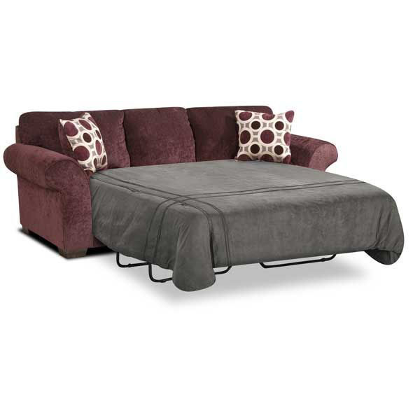 Picture of Elderberry QN Sleeper Chaise