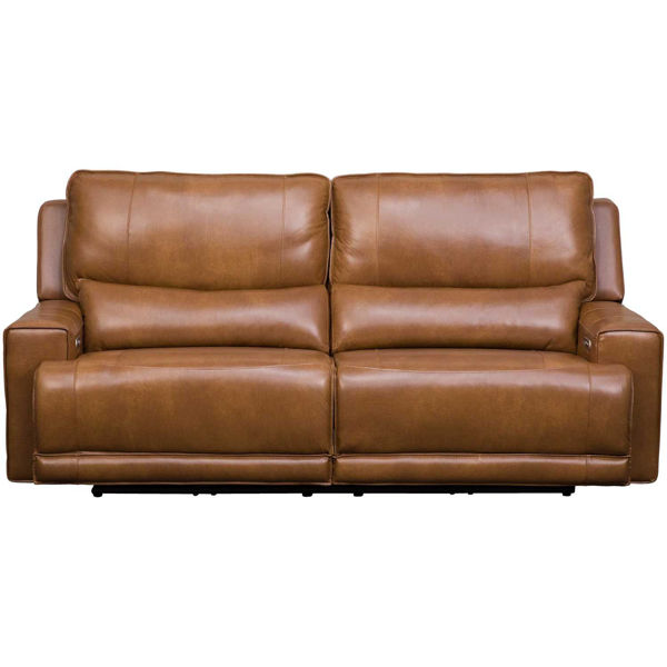 Picture of Rhen Leather P2 Reclining Sofa
