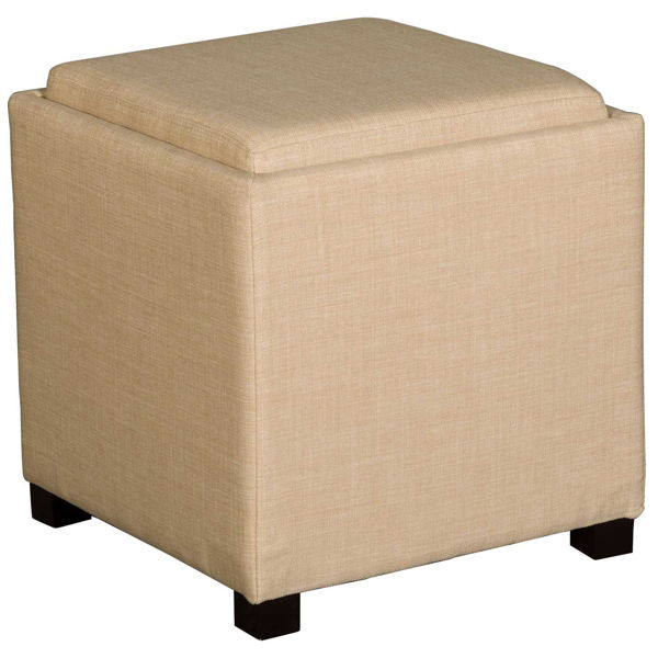 Picture of Beige Storage Cube