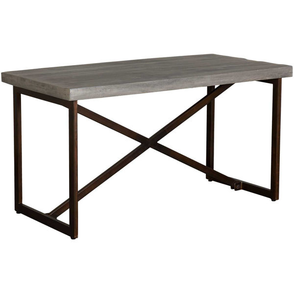 Picture of Wood and Iron Writing Desk