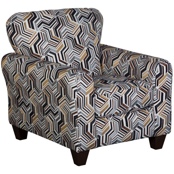 Picture of Indie Grey Accent Chair