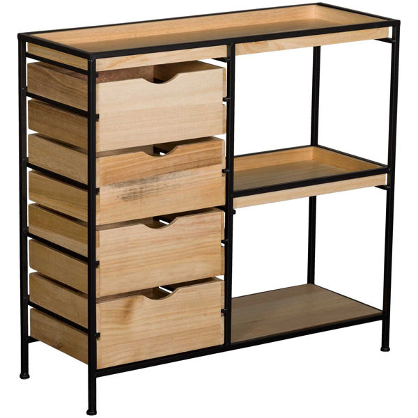 Picture of Four Drawer Storage Cabinet