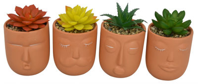 Picture of Figurine Planter Assorted X/4