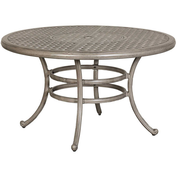 """Picture of Macon 52"""" Round Patio Dining Table"""