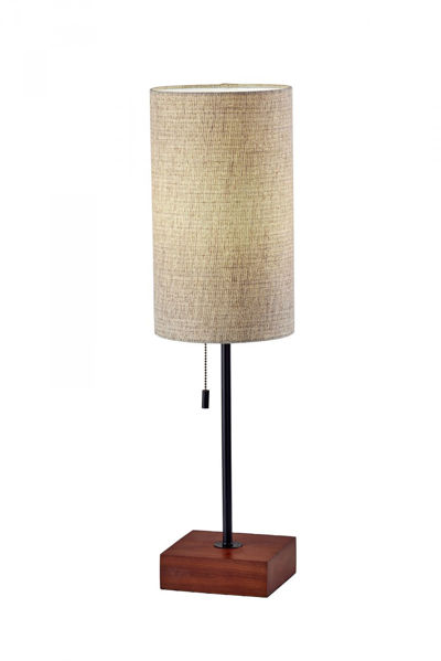 Picture of Trudy Table Lamp Black/Wood