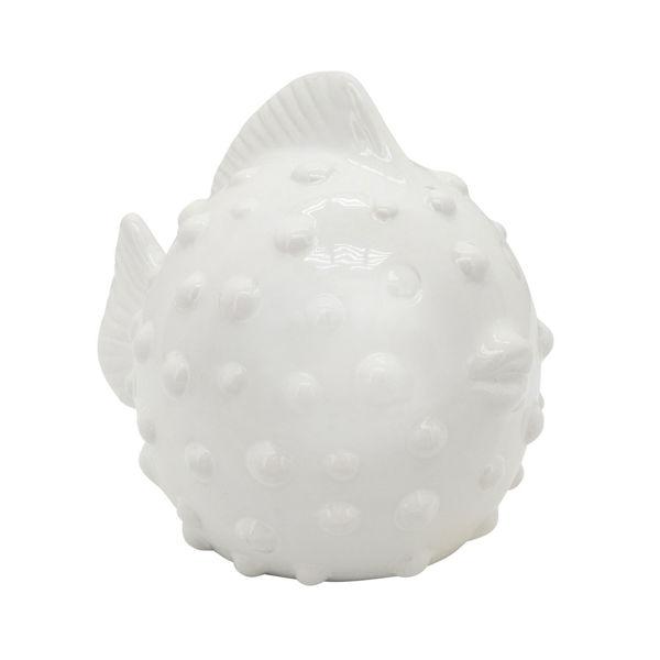 Picture of Puffer Fish White Medium