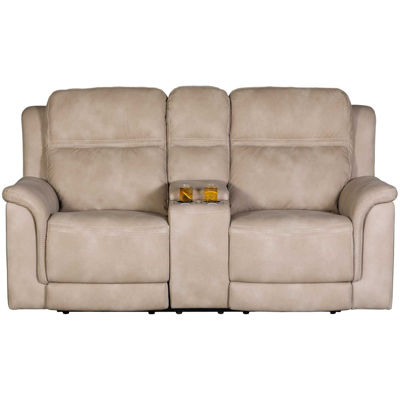 Picture of Next Gen Sand P2 Reclining Console Loveseat