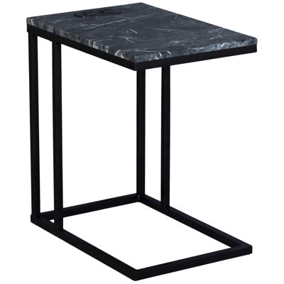 Picture of Norwich Black Marble C-Table