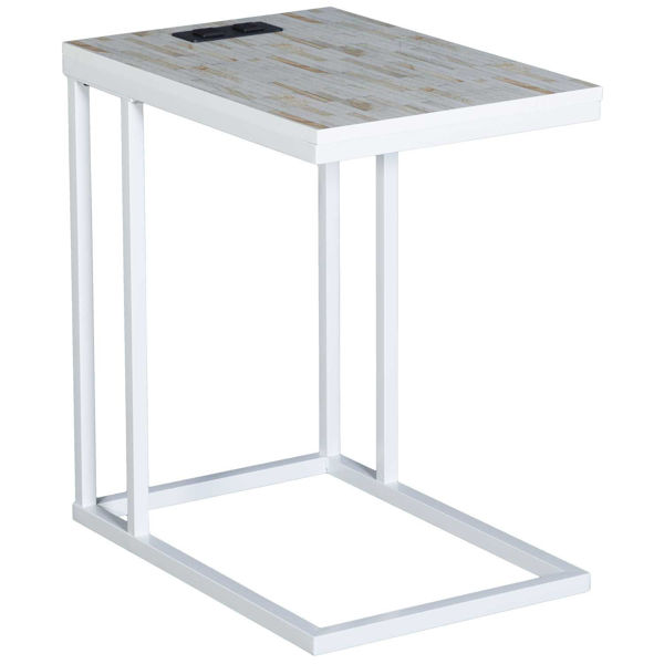 Picture of Norwich White Mosaic C-Table