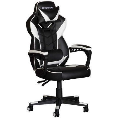 Picture of White and Black Gaming Chair